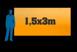 Reklamní plachta 1,5x3m