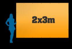 Reklamní plachta 2x3m