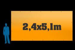 Reklamní plachta 2,4x5,1m